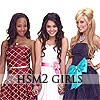 HSM2 Girls - Avatars / Icons