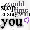 I would stop time