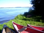 Canoes at the Lake