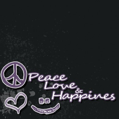 Peace, love, and happiness. Backgrounds · Click to view original image