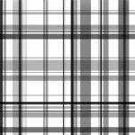 B&W Plaid - Backgrounds