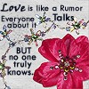 Love is like a Rumor