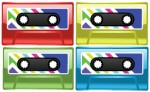 Colorful Cassette