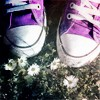Chucks and Flowers