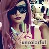 So uncolorful