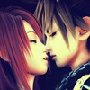 Sora and Kairi - Kingdom Hearts