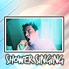 glee / shower singing