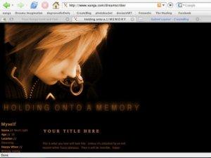 Holding onto a Memory V.2