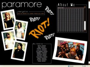 Paramore - RIOT!
