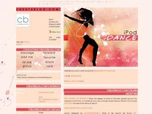 iPod DANCE
