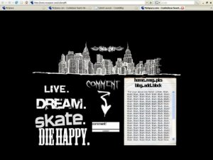 Live. Dream. Skate. Die happy.