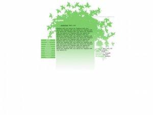 Go Green (div overlay)