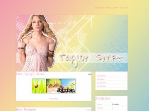 Taylor Swift: Pastel Rainbow