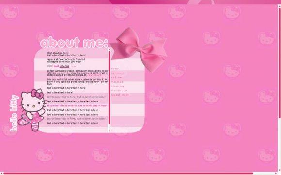 erotic web layouts
