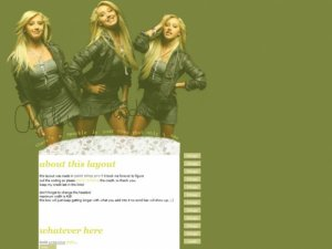 Ashley Tisdale *web template