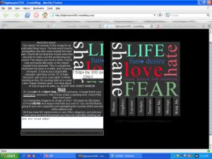 Love, Hate-Life(cb layout! not website!)