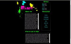 Paint Splatter - (Hi-res image)