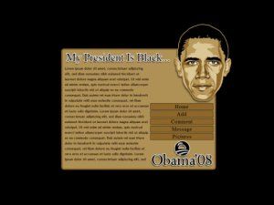 My President Is Black...