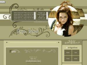 Kristen Stewart Layout