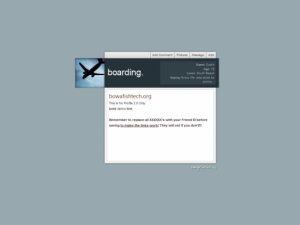 boarding.