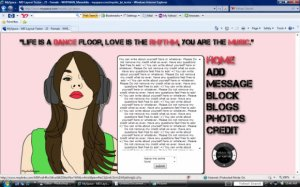 Music Girl_Brunette (ROLLOVERS!)