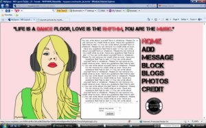 Music Girl_Blond (ROLLOVERS!)