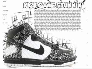 [CL] Notebook Nike Dunk Hi&#039;s