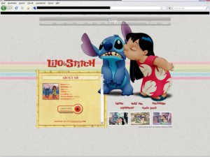 Hawaiian Sunrise -Lilo & Stitch-