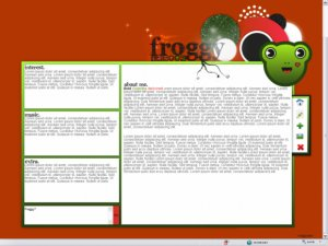 Froggy.