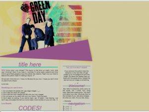 Green Day Retro