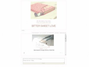 Bitter Sweet Love / 애기야