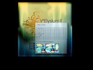 Elysium?