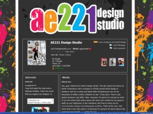 myspace.com/ae221design