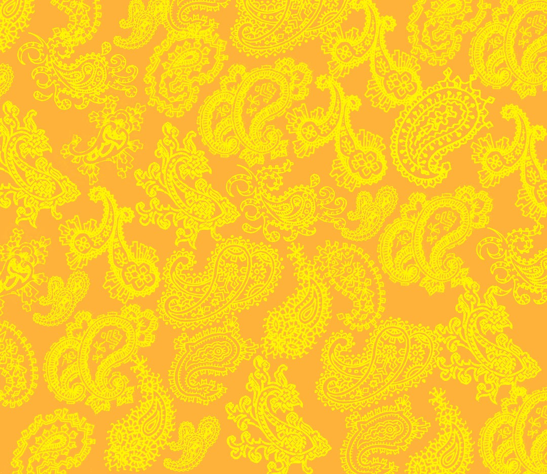 Paisley Love: Orange - Backgrounds - CreateBlog