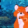 tod and the girl fox