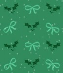 Holiday Mistletoe and Bows