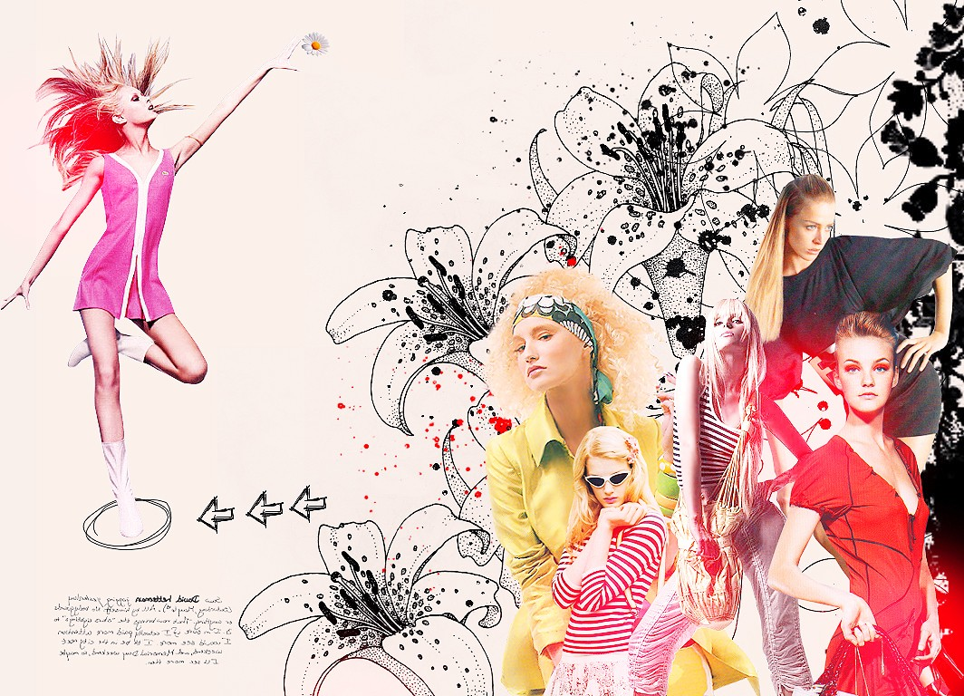 Fashion graphic preview createblog for Is wallpaper in style