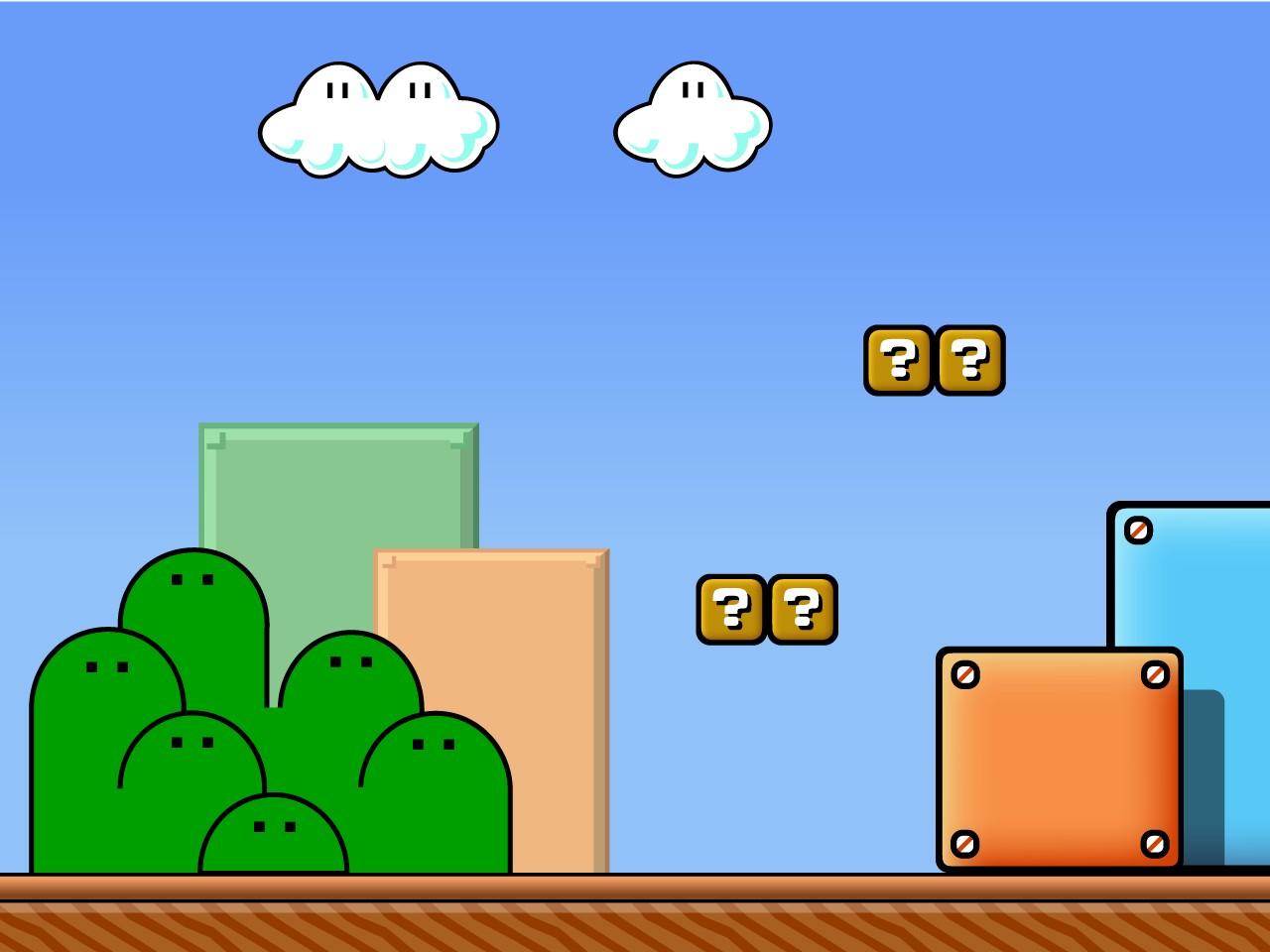 Super Mario Bros - Backgrounds - CreateBlog