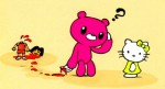 Gloomy bear Vs. Hello kitty