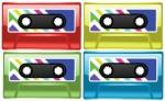 Colorful Cassette