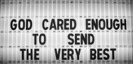 god cared