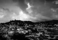 Grenada in black and white