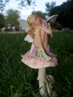Fairy in the yard