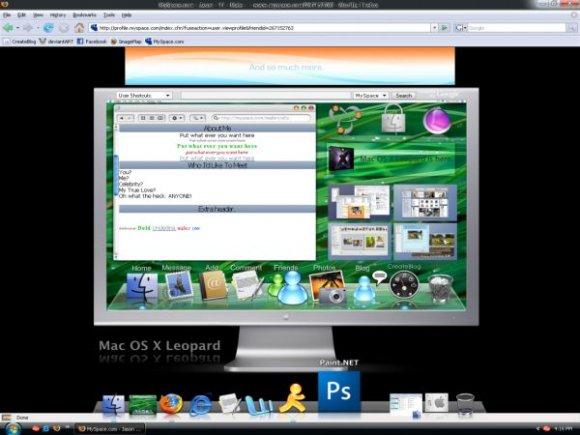Mac OS X Leopard - Myspace Layouts - CreateBlog