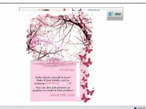 Cherry Blossoms div