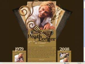 Heath Ledger Tribute