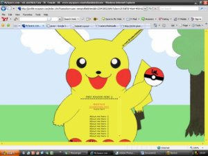 Pikachu layout