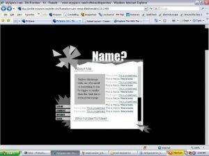 Dark Geometrics (For Myspace)