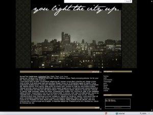 You Light The City Up