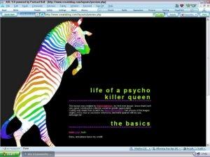 Zebra Rave!